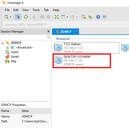 Using XDMCP with Windows 10's Windows Subsystem for Linux